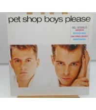 Виниловый диск LP Pet Shop Boys: Please - Remast