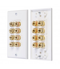 AirBase Wall Plate 4 Speakers