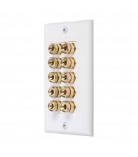 Настенная панель для акустических систем AirBase Wall Plate 5 Speakers