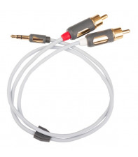 SUPRA AUX MP-CABLE MINI PLUG-2RCA