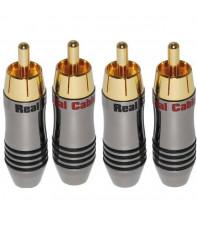 Real Cable Коннектор RCA (R6872-2C) до 6 мм.кв