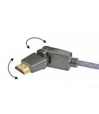 Кабель HDMI с изменяемым углом коннектора Real Cable HD-E-360